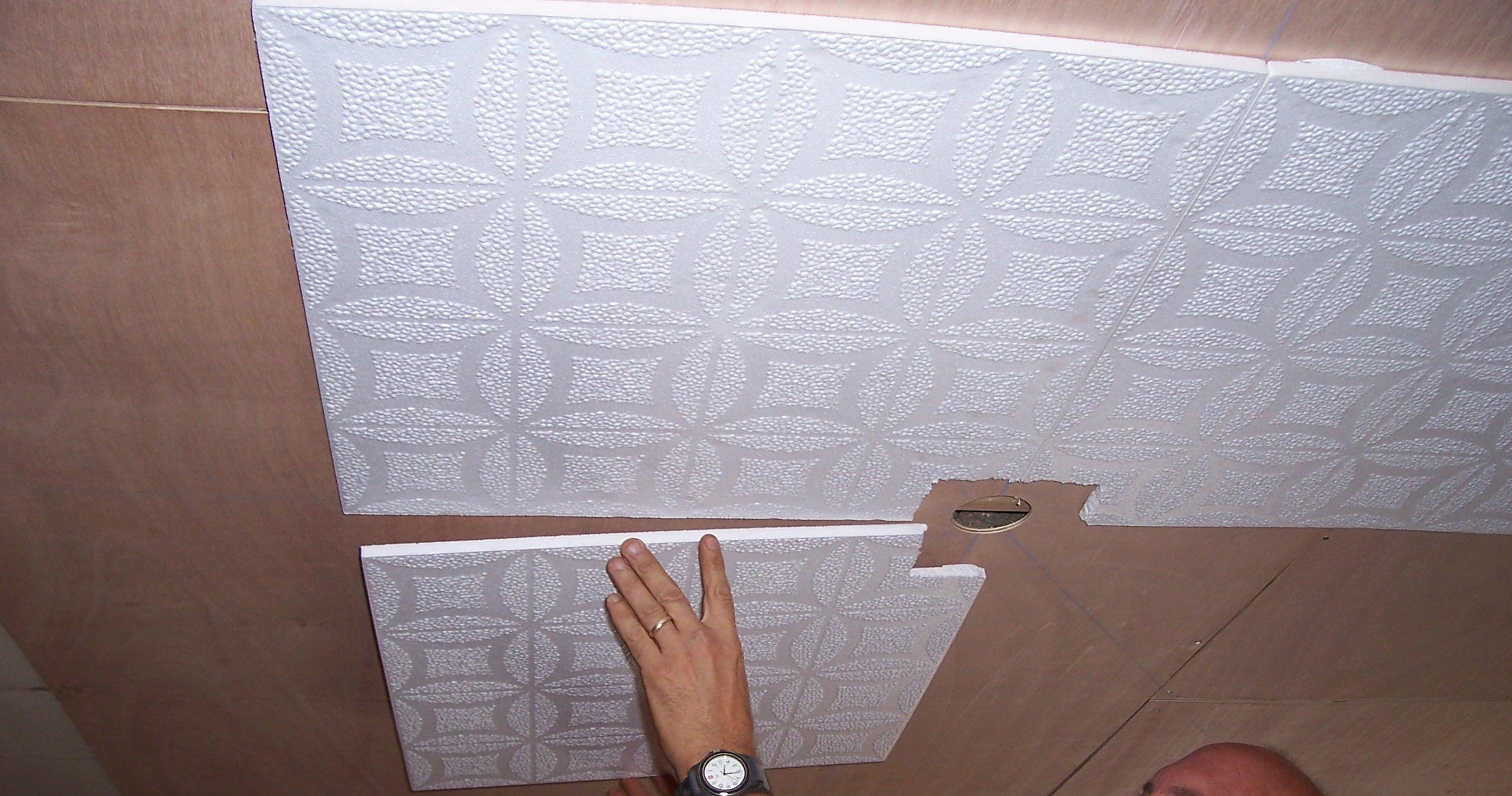 Как обновить потолок своими руками 384