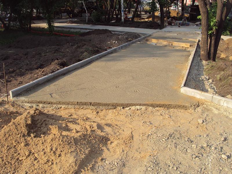 Укладка тротуарной плитки своими руками фото на песок 60