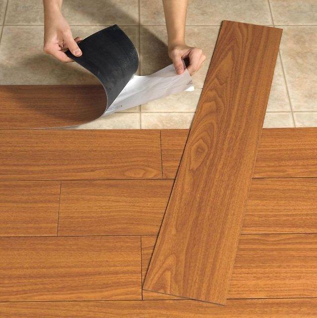 Укладываем плитку пвх на пол