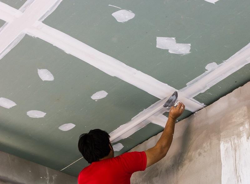 Как сделать потолок из смл пошаговая инструкция