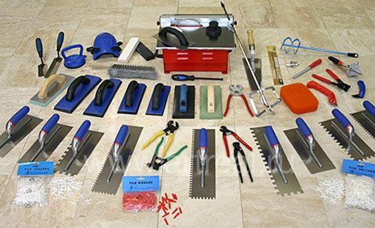Ceramic tile installation tools