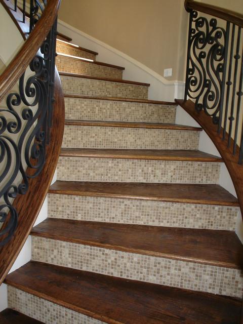 Дизайн лестниц плитка