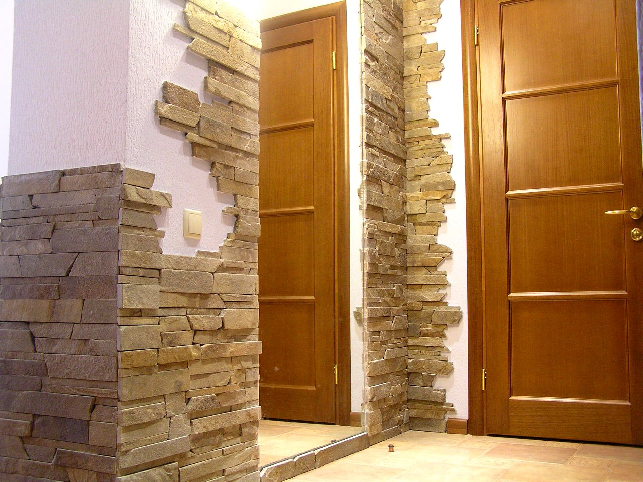 Декоративный отделочный камень для квартиры своими руками