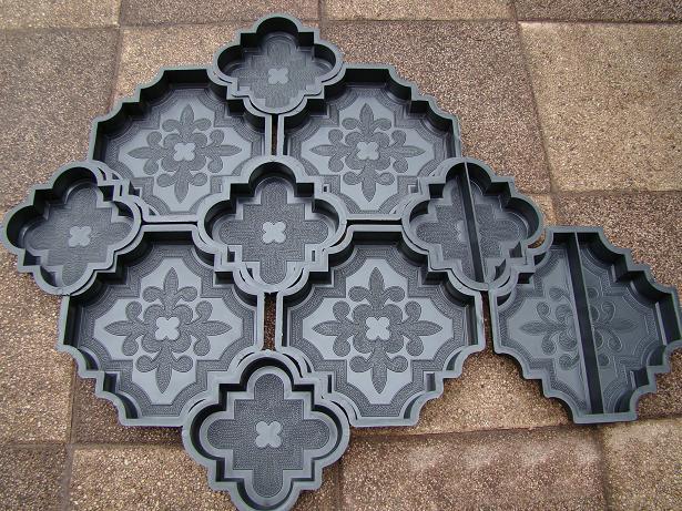 Купить форму для тротуарной плитки своими руками