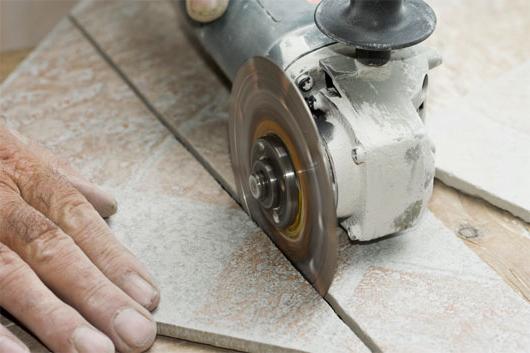 Резка керамогранита в домашних условиях, чем и как резать