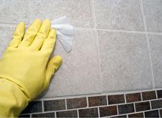 Как отмыть кафель после ремонта