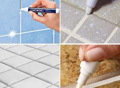 Как покрасить плиточные швы