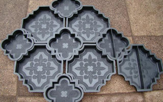 Изготовление форм для тротуарной плитки