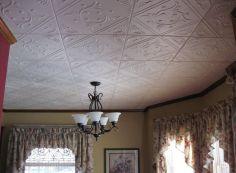 Потолочная плитка на кривой потолок