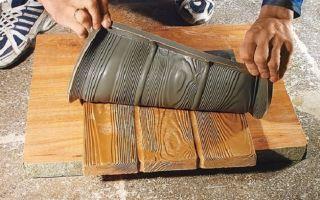 Формы для плитки своими руками: технология, материалы, интересные идеи