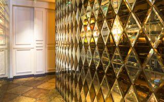 Роскошный интерьер без помощи дизайнера: зеркальная плитка