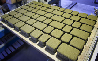 Формочки для изготовления брусчатки