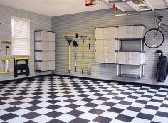 Напольная плитка для гаража — что использовать