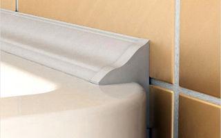 Заделываем щель между ванной и плиткой