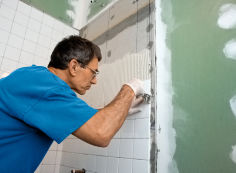 Технология укладки плитки на гипсокартон в ванной комнате