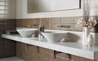 Размеры керамической плитки для ванной