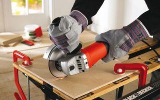 Как правильно резать плитку болгаркой безопасно и качественно