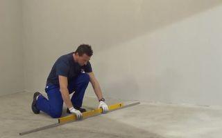 Подготовка поверхностей под плитку