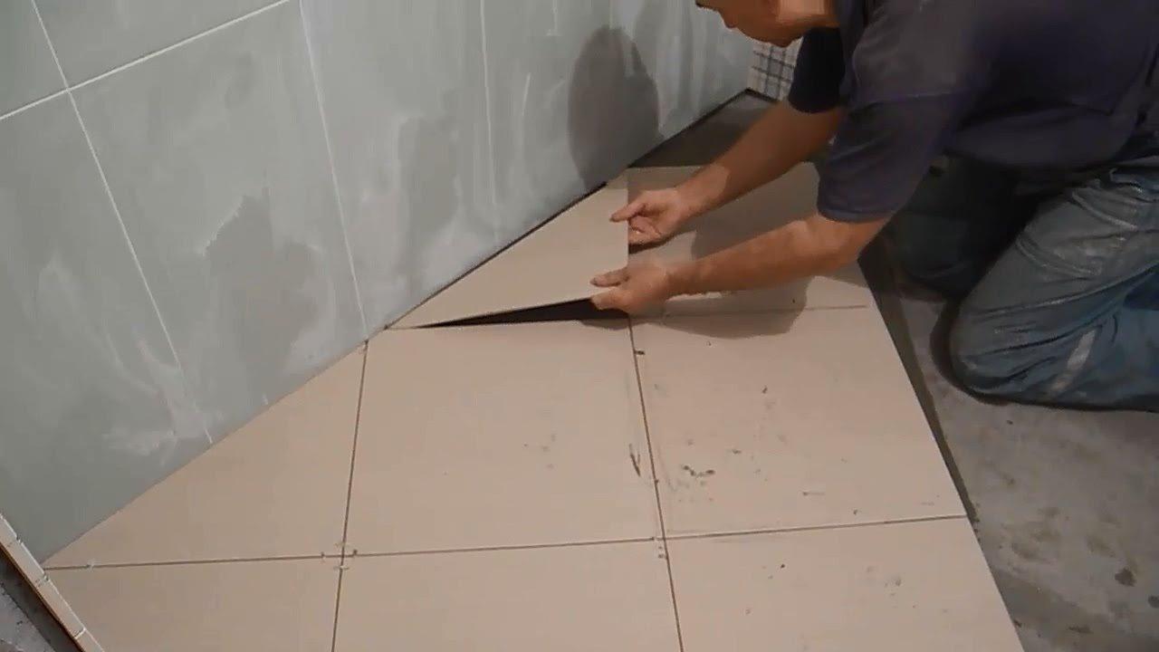 Когда укладывать плитку на пол в ванной своими руками