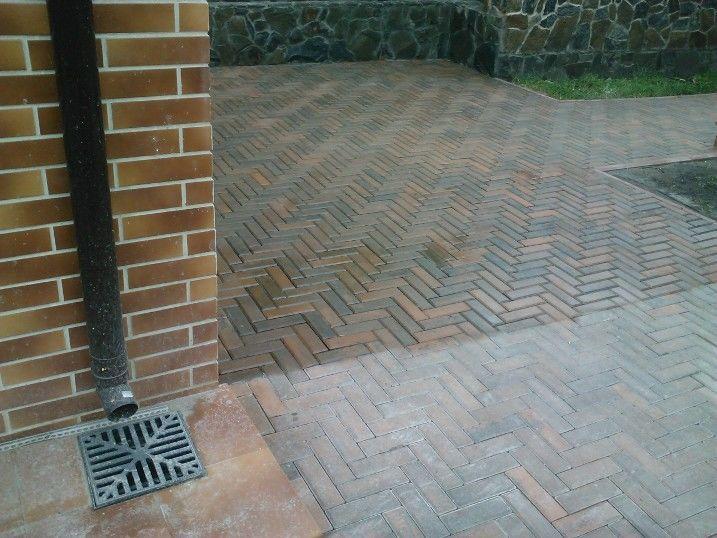 как очистить плитку тротуарную от цементного раствора