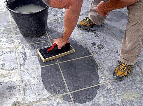 Как отмыть цементный раствор с кафельной плитки пластификатор для бетона купить