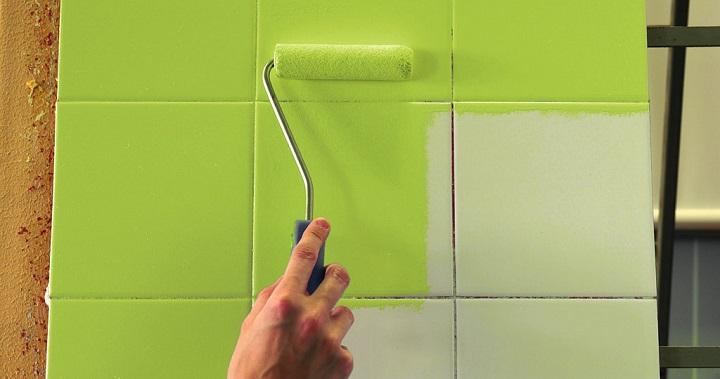 Можно ли покрасить кафельную плитку: на кухне и не только