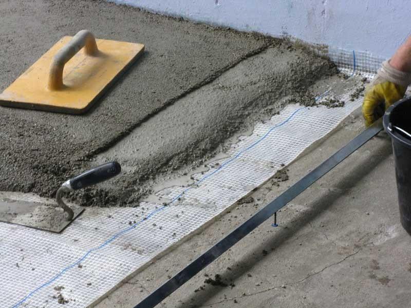 Сухая стяжка под плитку. Можно ли на сухую стяжку укладывать плитку или нет