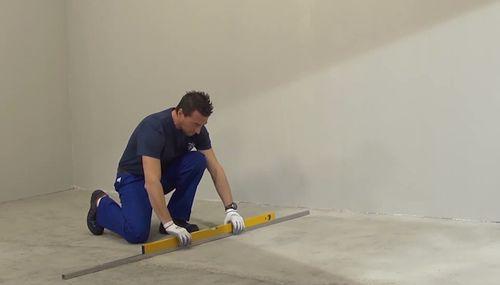 Подготовка основания для укладки плитки на пол